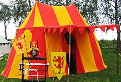 Rytířské a středověké stany