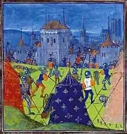 Barevné stany se vzory - 14. století